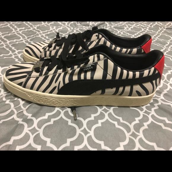 premium selection a8d10 b59a8 New Men's Puma Suede KISS Paul Stanley Shoes 10.5
